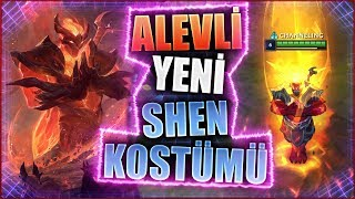 🔥 DOKUNANI YAKAN YENİ SHEN KOSTÜMÜ 🔥 | Infernal / Zebani Shen | LOL PBE | LOL - League of Legends