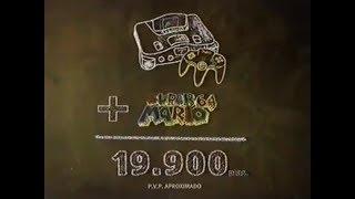 Nintendo 64 + Super Mario 64 (Anuncio de Nintendo 64)
