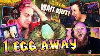 NINJA WAS 1 EGG AWAY!? - FT. DRLUPO, 72HRS & NINJA (Classic WoW)