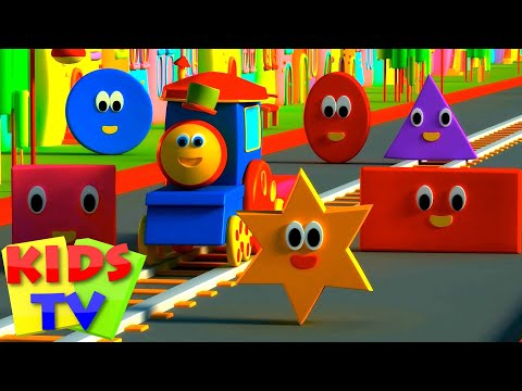 Bob The Train | Bob, The Train - Adventure with Shapes
