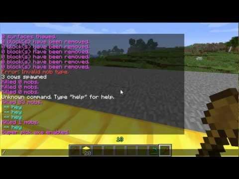 Minecraft Bukkit Plugin - World Edit / World Guard - How to use + Commands