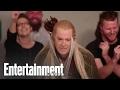 "Colbert takes ""elfie"" Legolas"