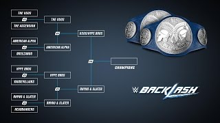 WWE Backlash 2016 Preview: WWE SmackDown Tag Team Championship Tournament Semi-Finals!
