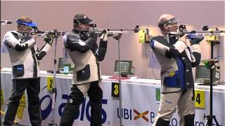European Championships Final 10M Air Rifle Men