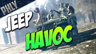 Heroes & Generals - Drunk Driving = JEEP HAVOC! - Heroes & Generals Gameplay