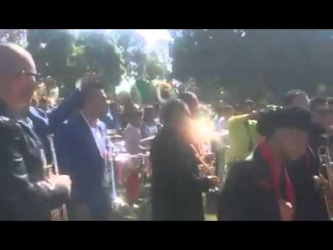 """30 Bandas Tocando """"El Sinaloense"""" South Gate Park 2014"""