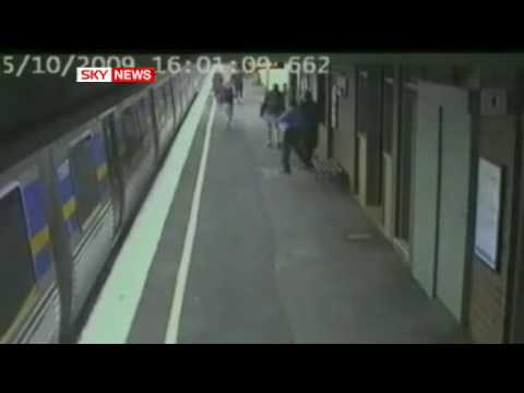 Train Hiting Baby But Baby Still Survive And Safe