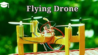 How to make a flying Drone at home | simple DIY project