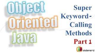 50a Super Keywording Superclass Methods Part 1 |