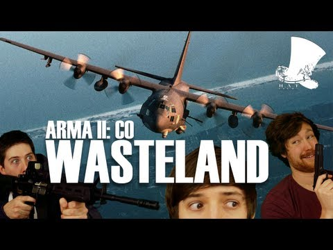 Wasteland (Arma II CO Ft. C130 + Osprey)