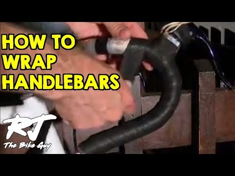 How to wrap bicycle handlebar tape
