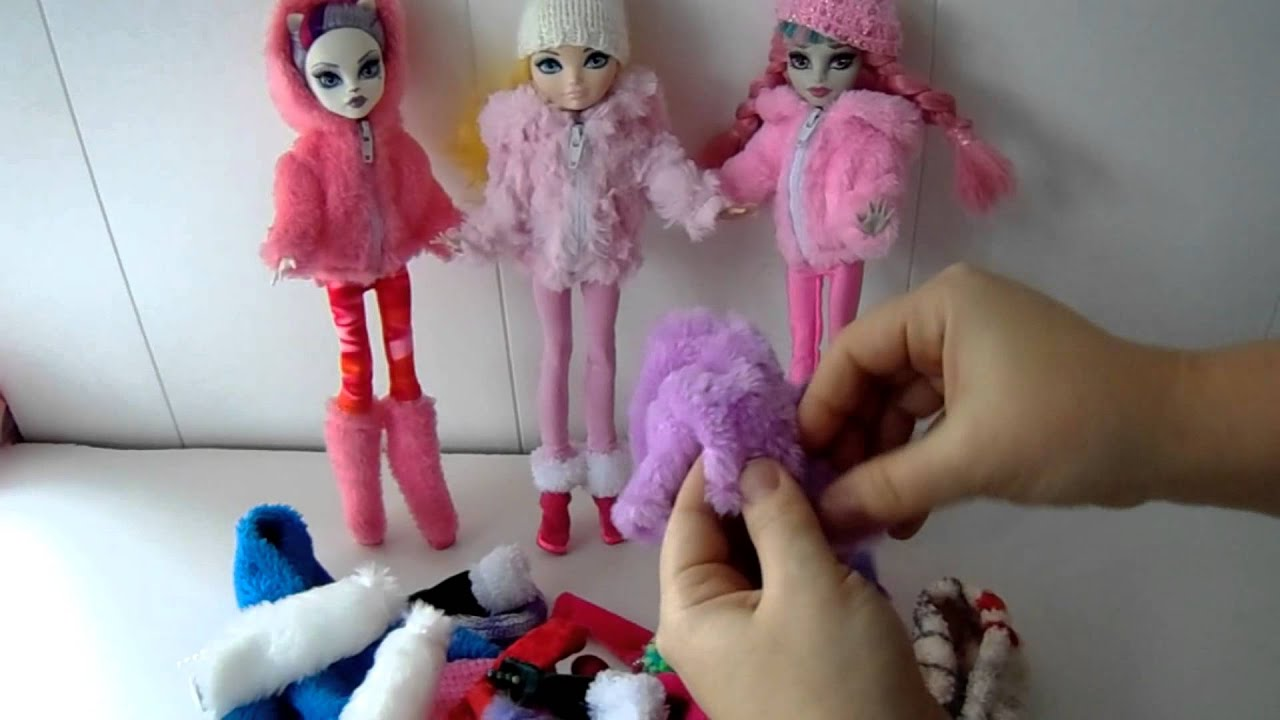Наушники для кукол своими руками