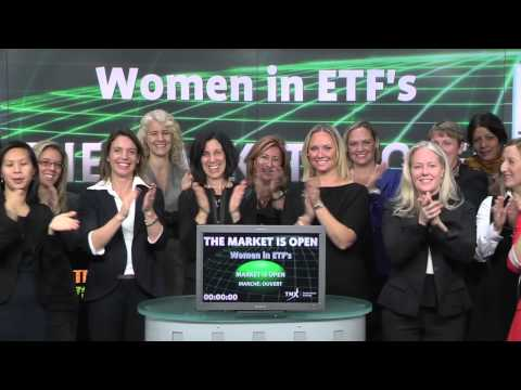 Women in ETFs opens Toronto Stock Exchange, November 12, 2014.