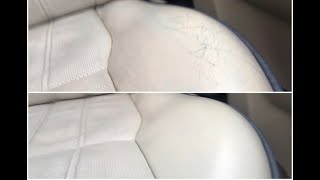 Repairing the Range Rover L322 seat leather