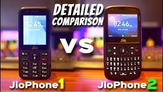 JioPhone 2 vs JioPhone 1 | Detailed Comparison with Camera Samples | Data Dock