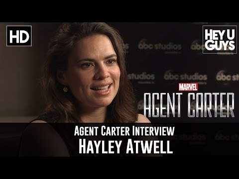 Hayley Atwell Interview - Agent Carter