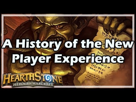 [Hearthstone] A History of the New Player Experience