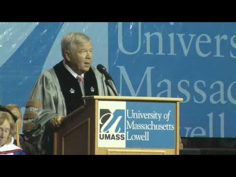 New England Patriots Owner, Robert Kraft Introduces N.F.L. Commissioner, Roger Goodell at 2010 UMass Lowell Commencement on May 29, 2010. http://www.uml.edu/...