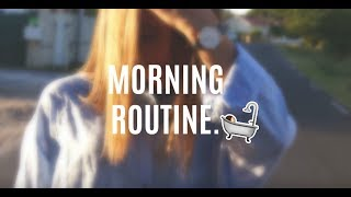 MORNING ROUTINE 👉 REPOST EMMAA