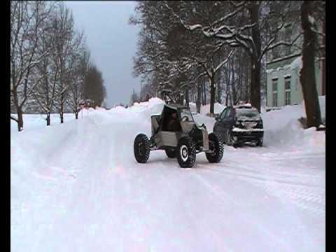 4x4 buggy snow hillclimb