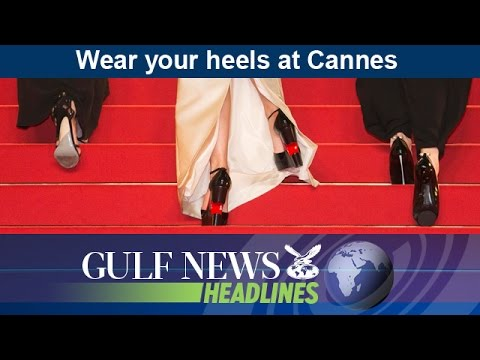 Women turned away for not wearing heels at Cannes - GN Headlines