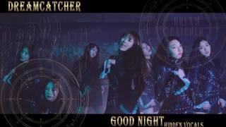 Hidden backup vocals/harmonies in Dreamcatcher - Good night