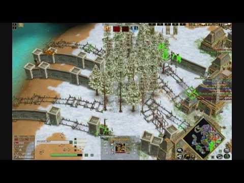 Age of mythology the TITANS 3 V 3 V 3 online match