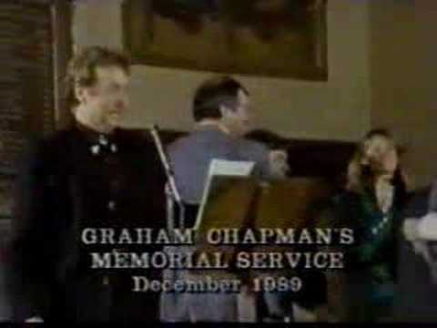 Graham Chapman's funeral Video