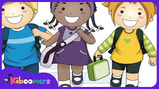 This Is The Way We Go To School | School Songs | The Kiboomers
