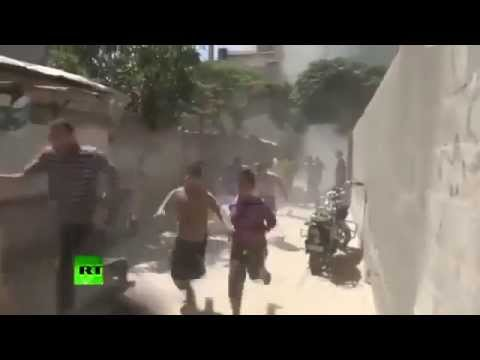 Gaza | first moment of the bombing