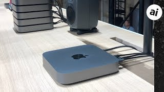 Hands On with the New Updated 2018 Mac Mini!