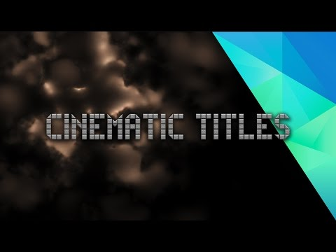 Glitchy Title Tutorial + FREE HitFilm Template