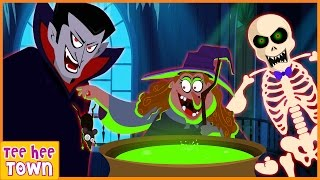 Halloween Songs | Scary Nursery Rhymes Collection | Songs For Children by Teehee Town