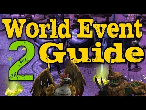 Runescape 3 – Bird and the Beast Guide World Event 2 – GREAT Rewards!