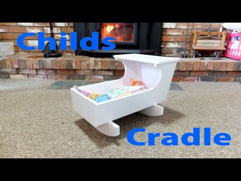 A Child's Doll Cradle - A woodworkweb.com woodworking video