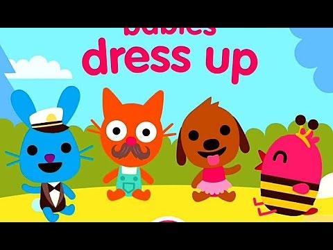 sago mini dress up Мультики для Детей на русском Прохождение Игры Саго Мини #1