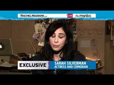 Rachel Maddow Sarah Silverman keeps Perrys n-word problem from fading away