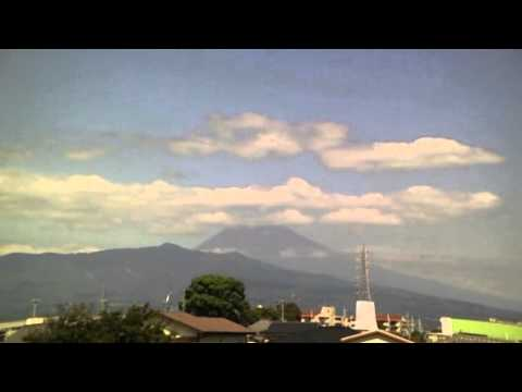 September 23, 2015 Today's Mount Fuji 100-speed playback : World Heritage Sites in Japan