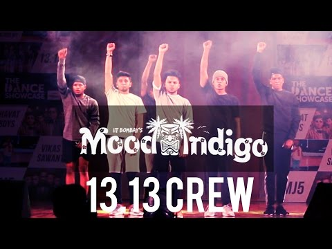13.13 Crew at Mood Indigo 2015 - IIT Bombay | Dance Showcase