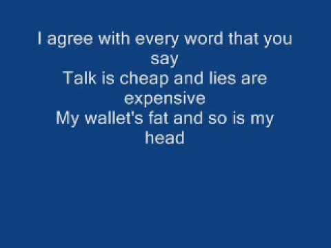 Green Day - Green day-walking contradiction lyrics