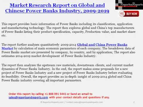 Overview of Global and Chinese Power Banks Market Development Opportunities by 2019
