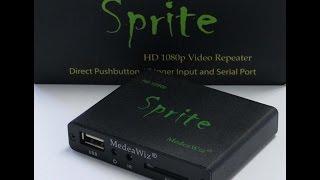 MedeaWiz Sprite HD Digital Media Player Review