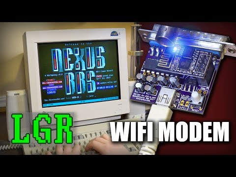 WiFi232 Wireless Modem: BBS Fun on Retro PCs! [A Review]