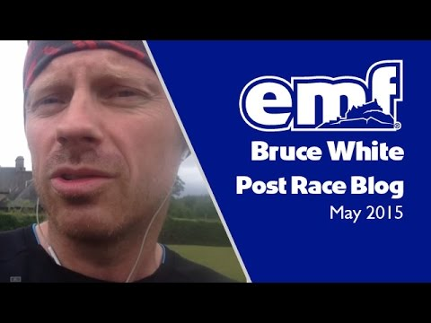 Bruce White - Edinburgh Marathon Festival 2015 - post event blog