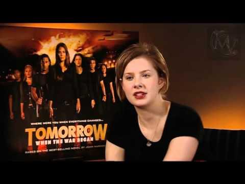 Rachel Hurd-Wood interview (Tomorrow When The War Began UK release)