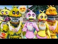 BRAND NEW CHICA ANIMATRONIC! FLOWER CHICA! (GTA 5 For Kids FN...