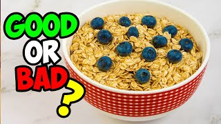 Oatmeal: Good or Bad? Pros & Cons of Oats and Oatmeal