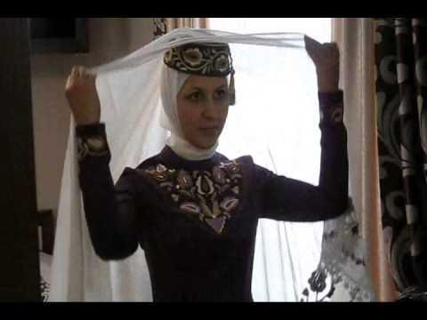 Национальный костюм Крымской татарки