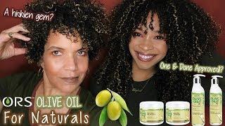 ORS Olive Oil For Naturals | Review + Wash n' Go | Hidden Gem?
