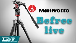 Best Video Tripod | Manfrotto Befree Live Fluid Video Head | Review